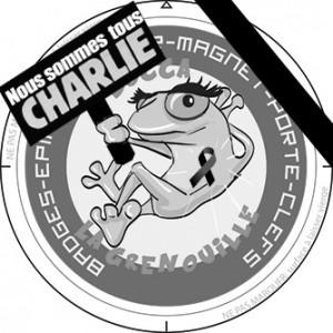 La grenouille est Charlie